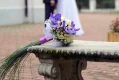 Hochzeits-Blumenstrauß Lizenzfreie Stockfotografie