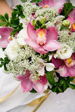 Hochzeits-Blumenstrauß der Orchideen Lizenzfreies Stockfoto