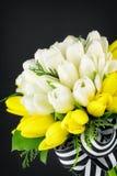 Hochzeits-Blumenstrauß der Tulpen Stockfotografie