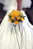 Hochzeits-Blumenstrauß Stockbild