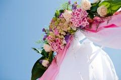 Hochzeits-Bogen Stockfoto