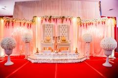 Hochzeits-Dekoration Stockfoto