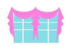 Hochzeits-Dekorations-Element Fenster verziert Lizenzfreie Stockfotos