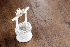 Hochzeits-Dekorationstauben Lizenzfreie Stockfotografie