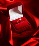 Hochzeits-Diamant-Ring Stockfotografie