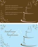 Hochzeits-Einladung Lizenzfreie Stockbilder