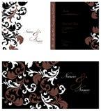 Hochzeits-Einladung Stockbilder