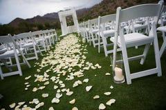 Hochzeits-Gang Lizenzfreie Stockfotos