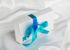 Hochzeits-Geschenk Stockfotos