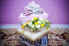 Hochzeits-Geschenk-Dekoration Stockbild