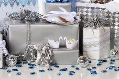 Hochzeits-Geschenke lizenzfreies stockbild