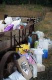 Hochzeits-Geschenke und Lastwagen Lizenzfreie Stockfotografie