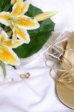 Hochzeits-Hintergrund Lizenzfreies Stockbild