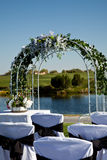 Hochzeits-Installation Lizenzfreies Stockbild