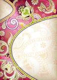 Hochzeits-Karte Stockbilder