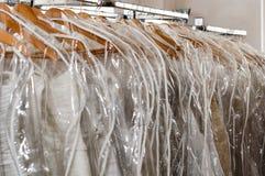 Hochzeits-Kleid Stockfoto