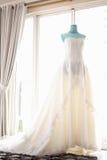 Hochzeits-Kleid Stockbilder