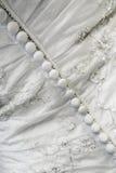 Hochzeits-Kleid-Detail Lizenzfreies Stockbild