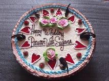 Hochzeits-Klumpen lizenzfreies stockbild