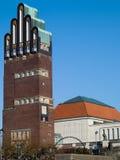 Hochzeits-Kontrollturm in Darmstadt stockfotos