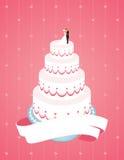 Hochzeits-Kuchen Lizenzfreie Stockfotografie