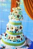 Hochzeits-Kuchen Lizenzfreies Stockfoto