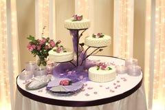 Hochzeits-Kuchen Lizenzfreie Stockfotos