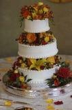 Hochzeits-Kuchen Stockfotografie