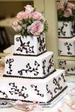 Hochzeits-Kuchen stockbild