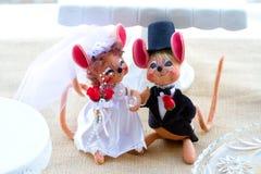 Hochzeits-Mäuse Stockbild