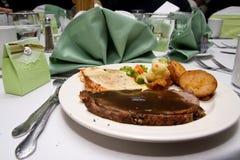 Hochzeits-Mahlzeit Lizenzfreie Stockfotos