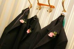 Hochzeits-Morgen-Klagen stockfoto