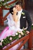 Hochzeits-Paare Lizenzfreie Stockfotografie