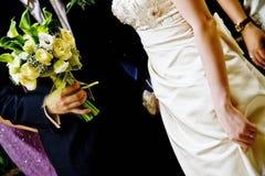 Hochzeits-Paare stockfotografie