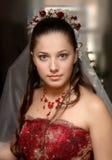 Hochzeits-Portraits Stockbilder