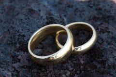 Hochzeits-Ringe Stockbilder