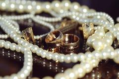 Hochzeits-Schmuck Stockbild