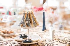 Hochzeits-Schokoriegel Live Stockbilder