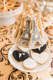 Hochzeits-Schokoriegel Live Lizenzfreies Stockfoto