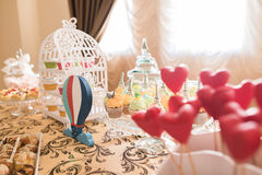 Hochzeits-Schokoriegel Live Stockbild