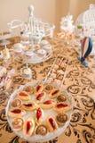Hochzeits-Schokoriegel Live Lizenzfreie Stockfotos