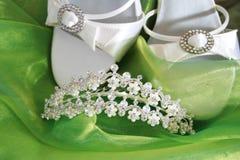 Hochzeits-Schuhe Lizenzfreies Stockfoto