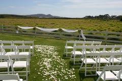 Hochzeits-Standort Stockbild