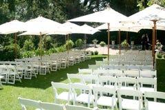 Hochzeits-Standort Stockfoto