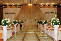 Hochzeits-Stufe stockbilder
