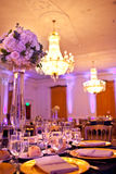 Hochzeits-Tabelle Lizenzfreie Stockbilder