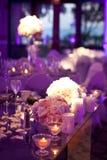 Hochzeits-Tabelle Lizenzfreies Stockbild