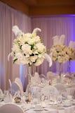 Hochzeits-Tabelle Lizenzfreie Stockfotos