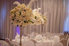 Hochzeits-Tabelle Stockfoto
