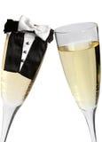 Hochzeits-Toast Stockbilder